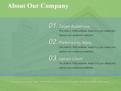 About Our Company Ppt PowerPoint Presentation Styles Good