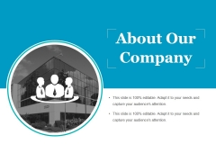 About Our Company Ppt PowerPoint Presentation Styles Graphic Tips