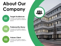 About Our Company Ppt PowerPoint Presentation Summary Format Ideas
