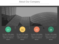 About Our Company Template 1 Ppt PowerPoint Presentation Visuals