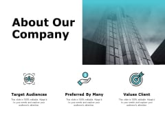 About Our Company Values Client Ppt PowerPoint Presentation Styles Inspiration