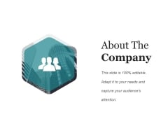 About The Company Template Ppt PowerPoint Presentation Styles Demonstration