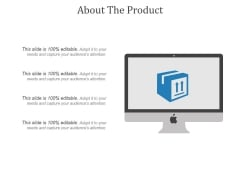 About The Product Ppt PowerPoint Presentation Visuals