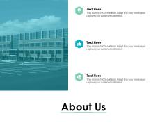 About Us Business Management Ppt PowerPoint Presentation Infographics Deck