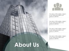 About Us Business Ppt PowerPoint Presentation Professional Slide Portrait