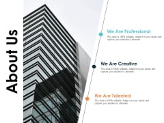 About Us Company Detail Ppt PowerPoint Presentation Model Examples