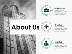 About Us Company Details Ppt PowerPoint Presentation File Portfolio