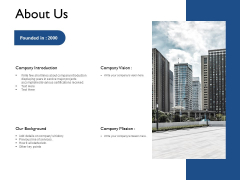 About Us Company Mission Ppt PowerPoint Presentation Model Designs