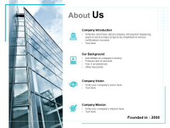 About Us Introduction Ppt PowerPoint Presentation Gallery Picture
