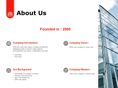 About Us Introduction Ppt PowerPoint Presentation Inspiration Format
