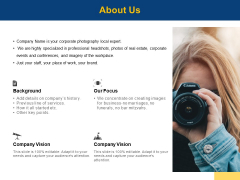About Us Our Focus Ppt PowerPoint Presentation Ideas Rules