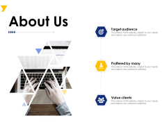 About Us Ppt PowerPoint Presentation Design Templates