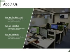 About Us Ppt PowerPoint Presentation Example 2015