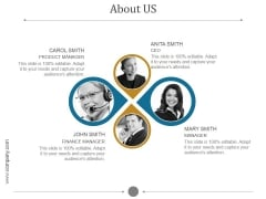 About Us Ppt PowerPoint Presentation Gallery