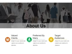 About Us Ppt PowerPoint Presentation Icon Themes