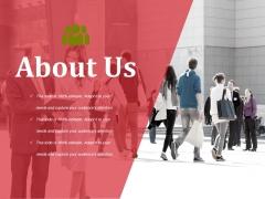 About Us Ppt PowerPoint Presentation Ideas Smartart