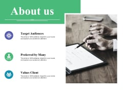 About Us Ppt PowerPoint Presentation Infographic Template Background Image