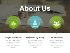 About Us Ppt Powerpoint Presentation Infographic Template Guidelines