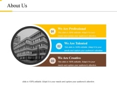 About Us Ppt PowerPoint Presentation Infographic Template Introduction