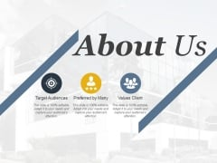About Us Ppt PowerPoint Presentation Infographic Template Master Slide