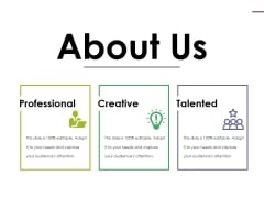 About Us Ppt PowerPoint Presentation Infographic Template Rules