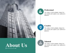 About Us Ppt PowerPoint Presentation Infographic Template Show