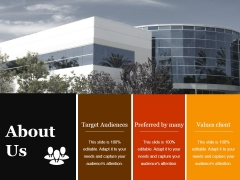 About Us Ppt PowerPoint Presentation Infographic Template Slides