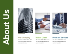 About Us Ppt PowerPoint Presentation Infographic Template Slideshow
