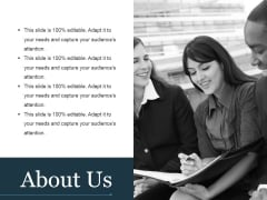 About Us Ppt PowerPoint Presentation Inspiration Infographics