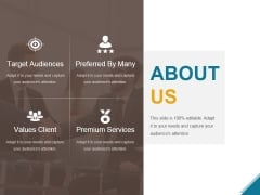 About Us Ppt PowerPoint Presentation Layouts Deck