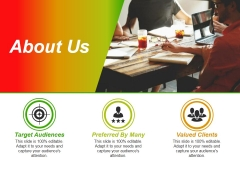 About Us Ppt PowerPoint Presentation Model Format