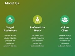 About Us Ppt Powerpoint Presentation Outline Layouts