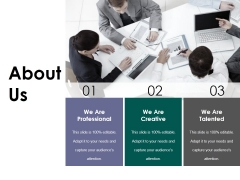 About Us Ppt PowerPoint Presentation Pictures Gallery