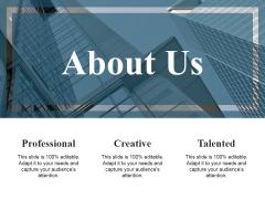 About Us Ppt PowerPoint Presentation Portfolio Good