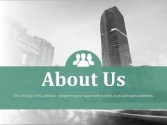 About Us Ppt PowerPoint Presentation Portfolio Portrait