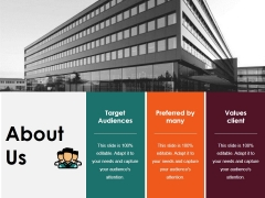 About Us Ppt PowerPoint Presentation Professional Deck