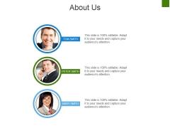 About Us Ppt PowerPoint Presentation Slides Background Designs
