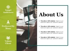 About Us Ppt PowerPoint Presentation Slides Deck