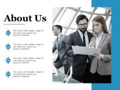 About Us Ppt PowerPoint Presentation Slides Designs Download