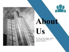 About Us Ppt PowerPoint Presentation Slides Ideas