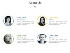 About Us Ppt PowerPoint Presentation Styles