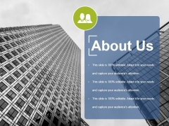 About Us Ppt PowerPoint Presentation Summary Infographics