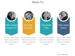 About Us Ppt PowerPoint Presentation Templates