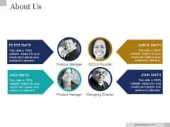 About Us Ppt PowerPoint Presentation Tips