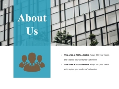 About Us Ppt PowerPoint Presentation Visual Aids Slides