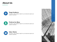 About Us Preferred By Many Ppt PowerPoint Presentation Slides Slideshow