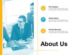 About Us Premium Services Ppt PowerPoint Presentation Show Format Ideas