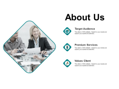About Us Premium Services Ppt PowerPoint Presentation Styles Sample