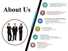 About Us Template 2 Ppt PowerPoint Presentation Icon Background Designs