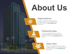About Us Template 2 Ppt PowerPoint Presentation Slides Graphics Example